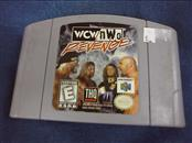 NINTENDO 64 Game WCW/NWO REVENGE GAME ONLY